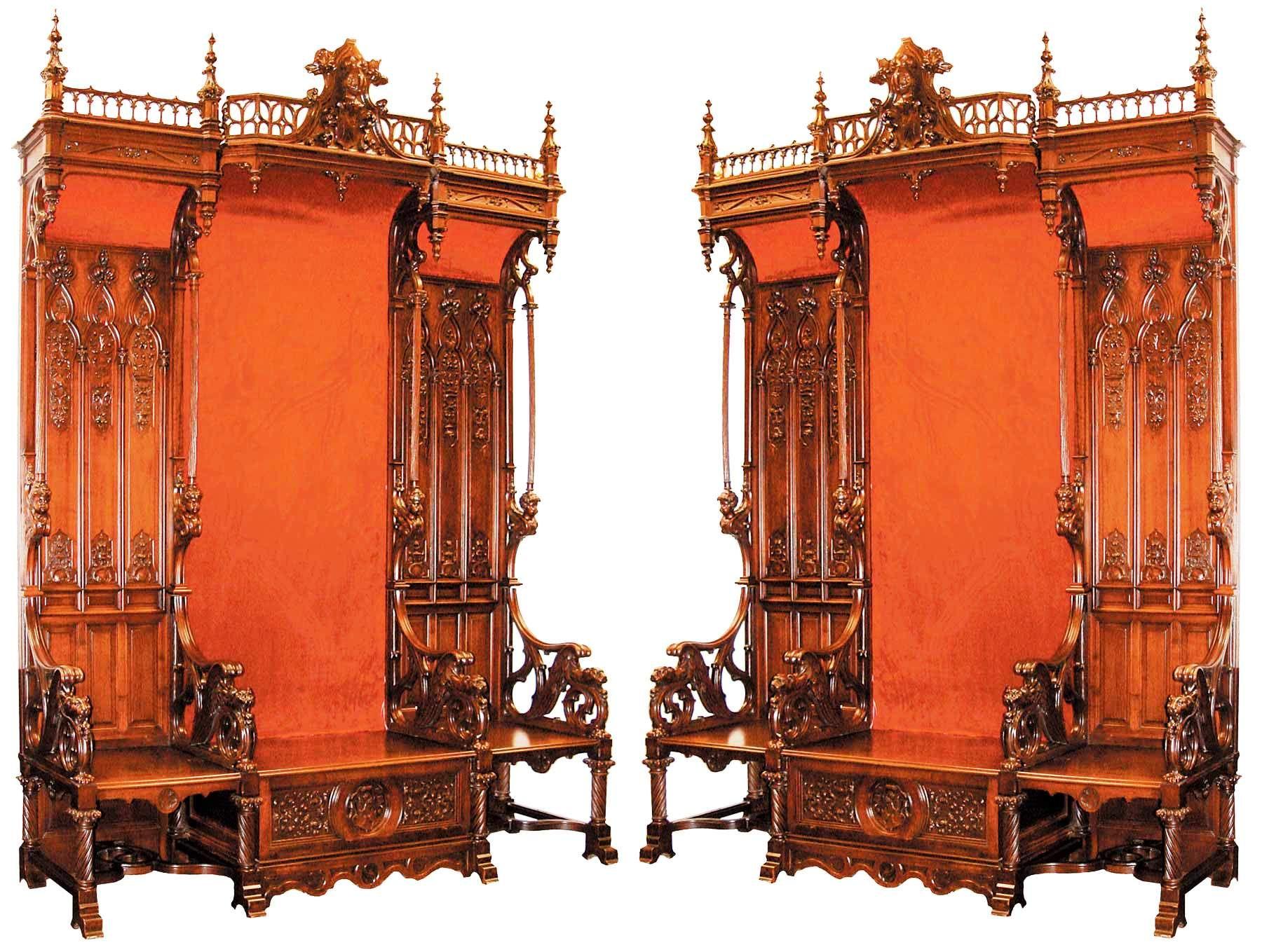Ancient gothic furniture - Gothic