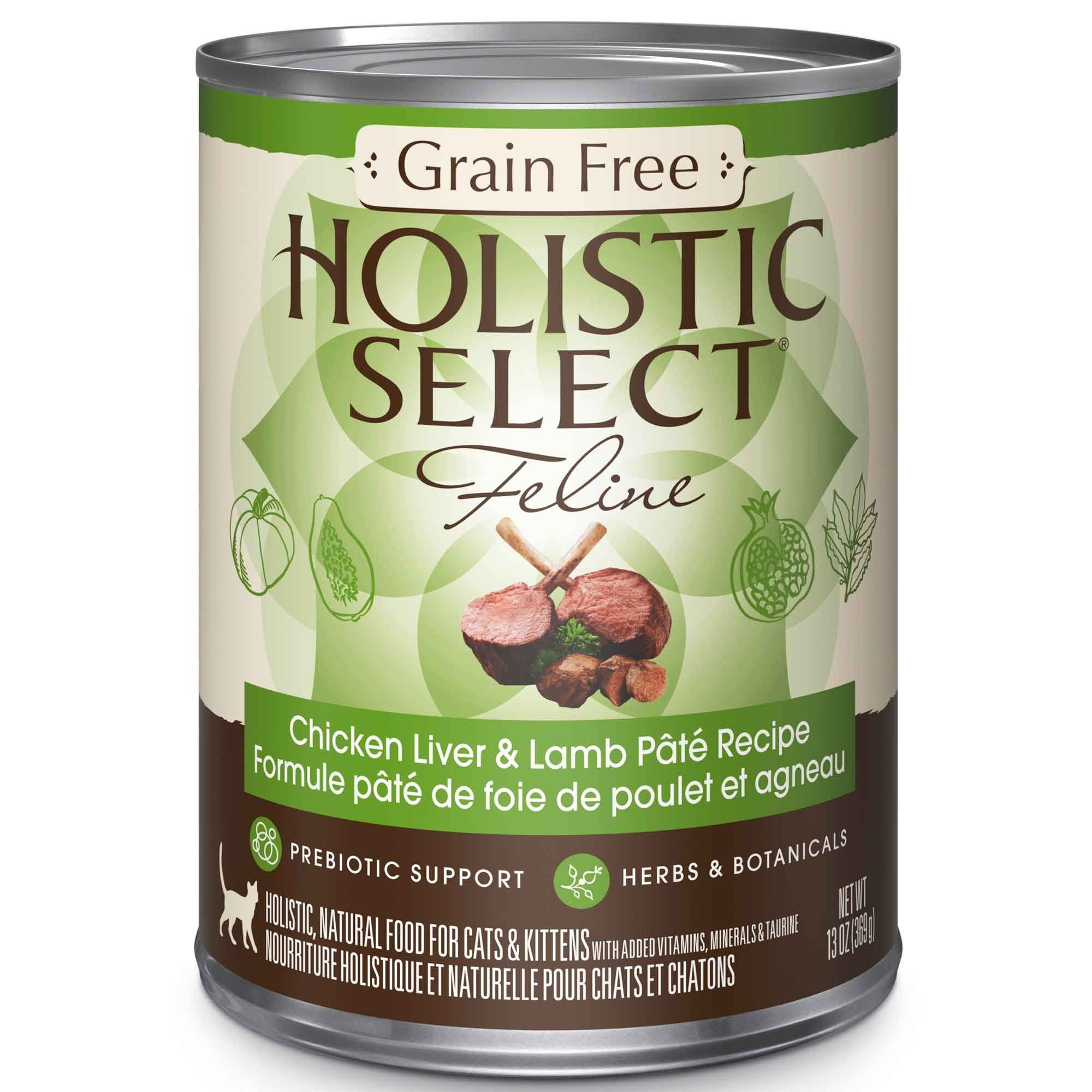 Holistic select cat food grain free chicken liver lamb pate holistic select cat food grain free chicken liver lamb pate forumfinder Choice Image
