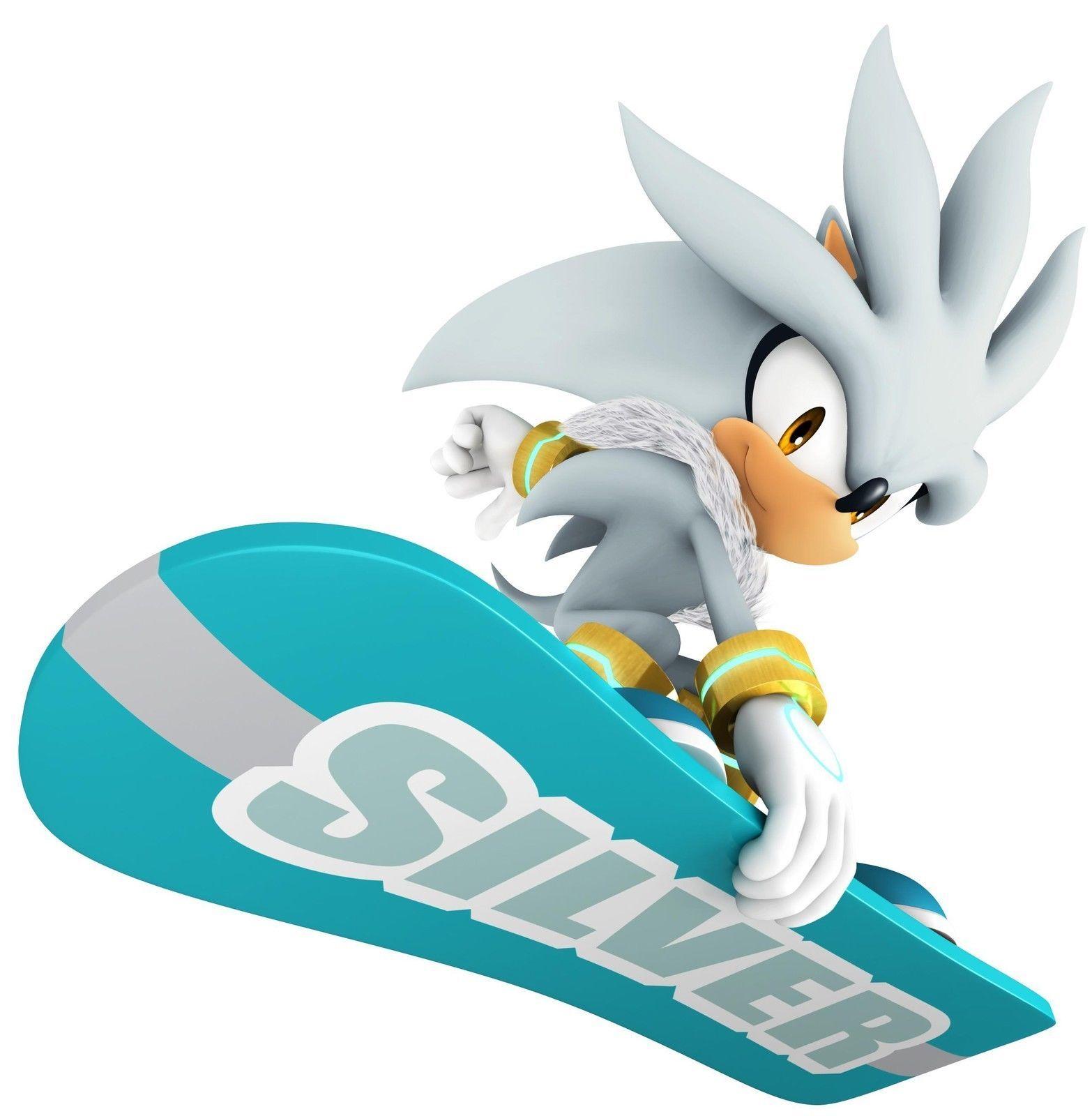 Sonic Vinyl Wall Sticker Wall Decals Silver The Hedgehog Sonic Hedgehog