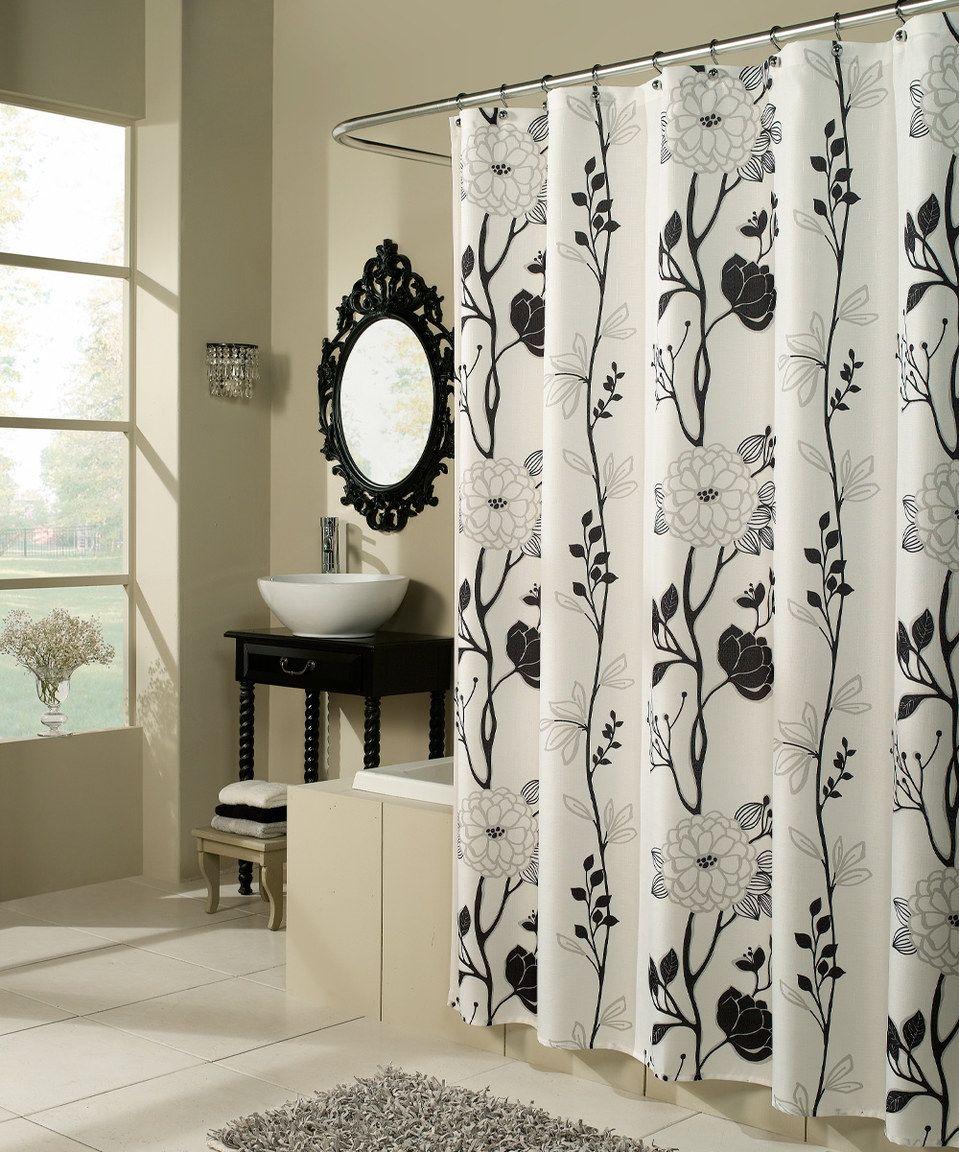 Look At This Zulilyfind Black White Cassandra Shower Curtain