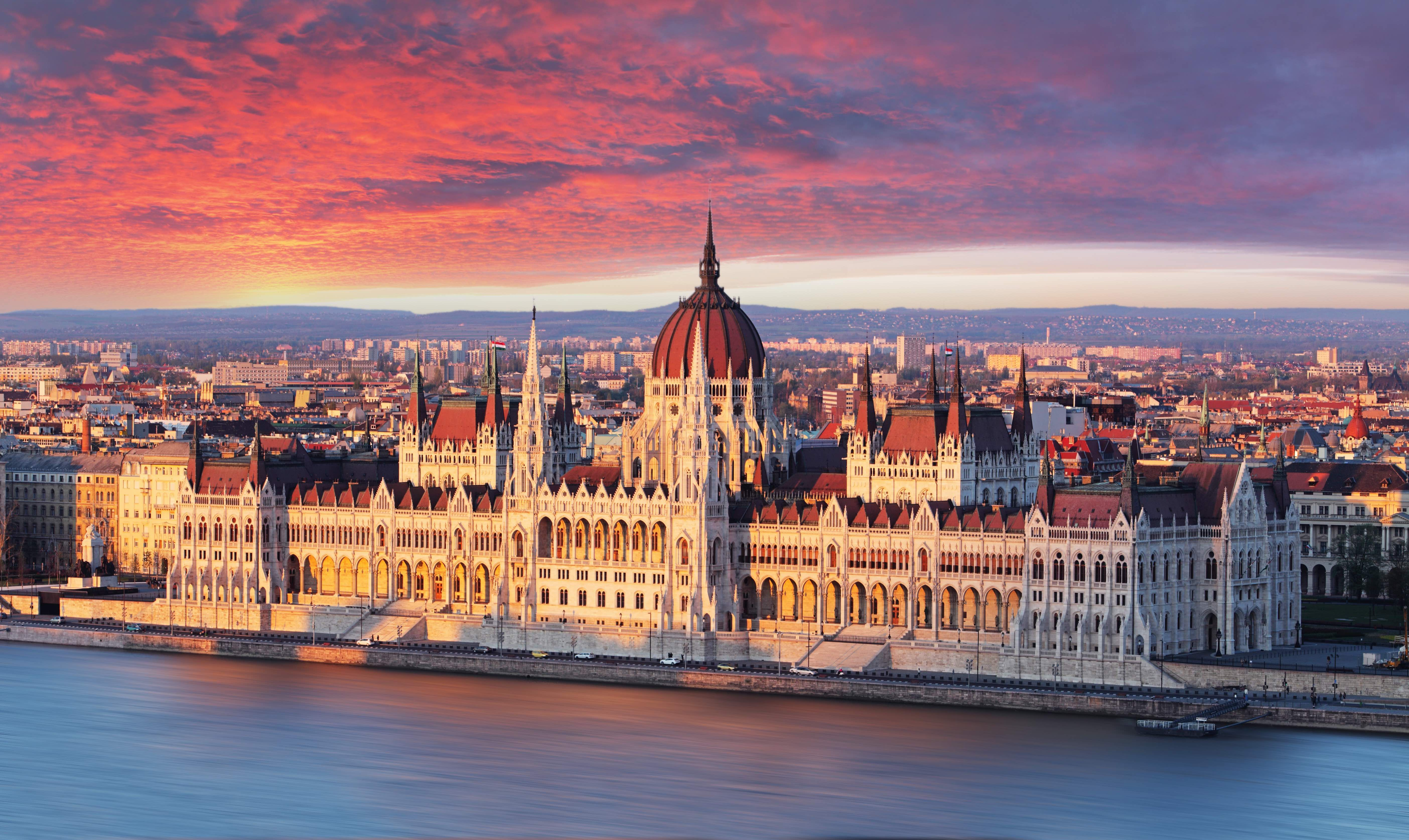 the hungarian parliament building is giving us the travel