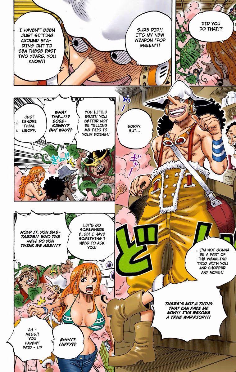 One Piece Digital Color One Piece Manga One Piece Nami One Piece
