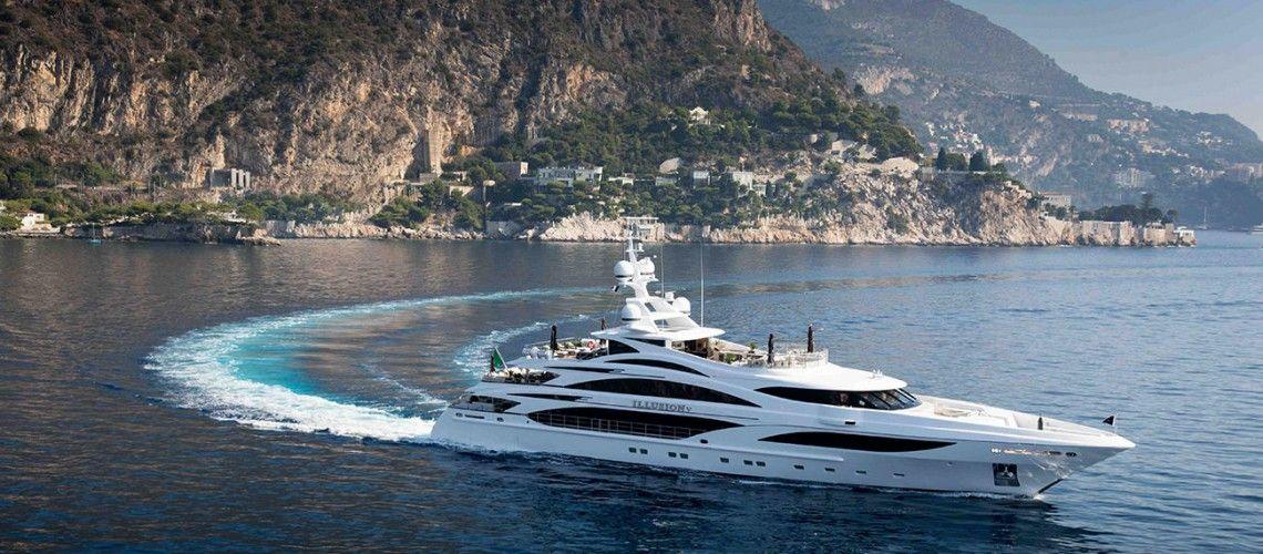 The brand-new Illusion V superyacht by Benetti - via www.themilliardaire.co