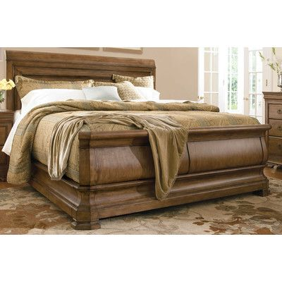 Pin By Latosha Avery On Bedroom Furniture Wood Sleigh Bed Sleigh Bedroom Set Sleigh Beds