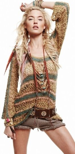 Free People ..BOHO bohemian hippie hippy gypsy style. For more follow…