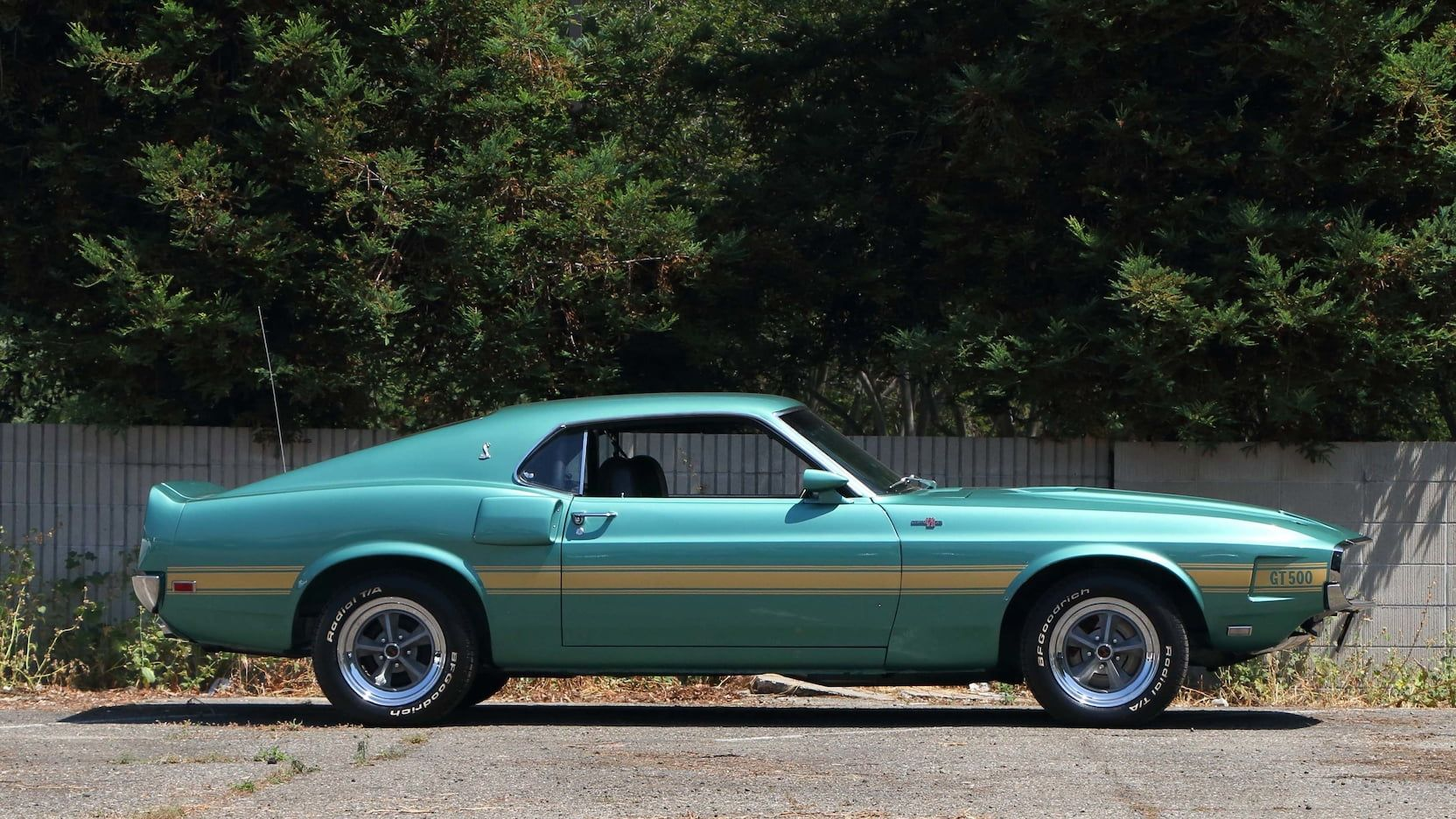 1969 Shelby GT500 Fastback presented as Lot S107.1 at Las Vegas, NV ...