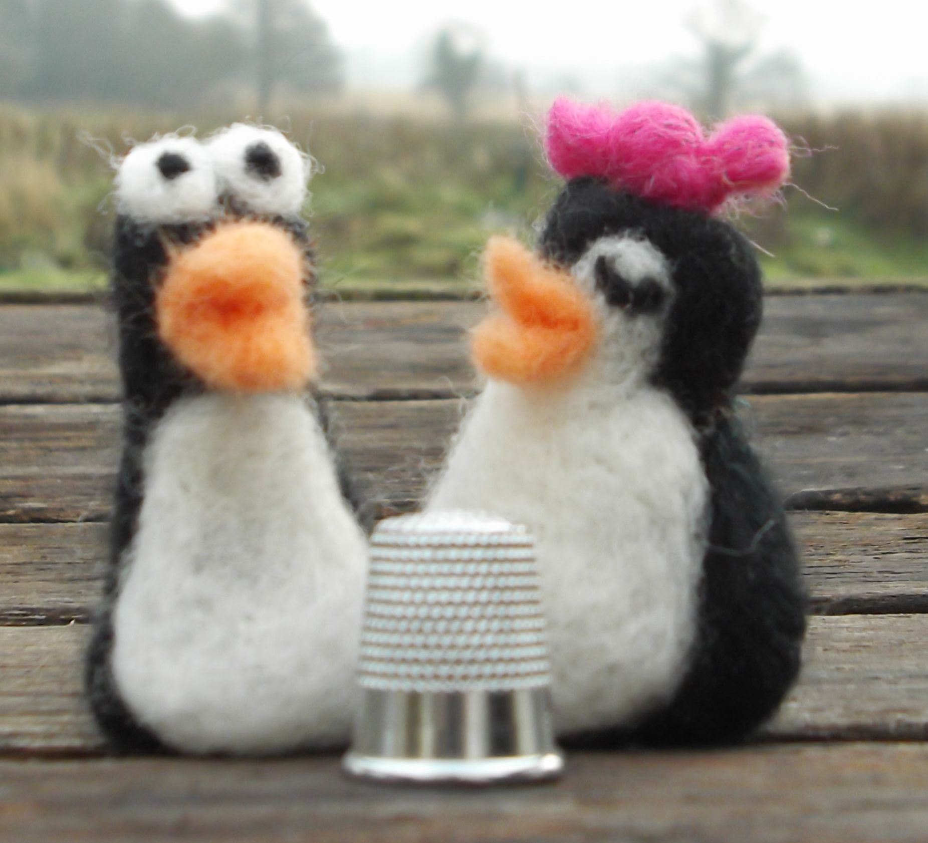 Icle tiny penguins in love <3