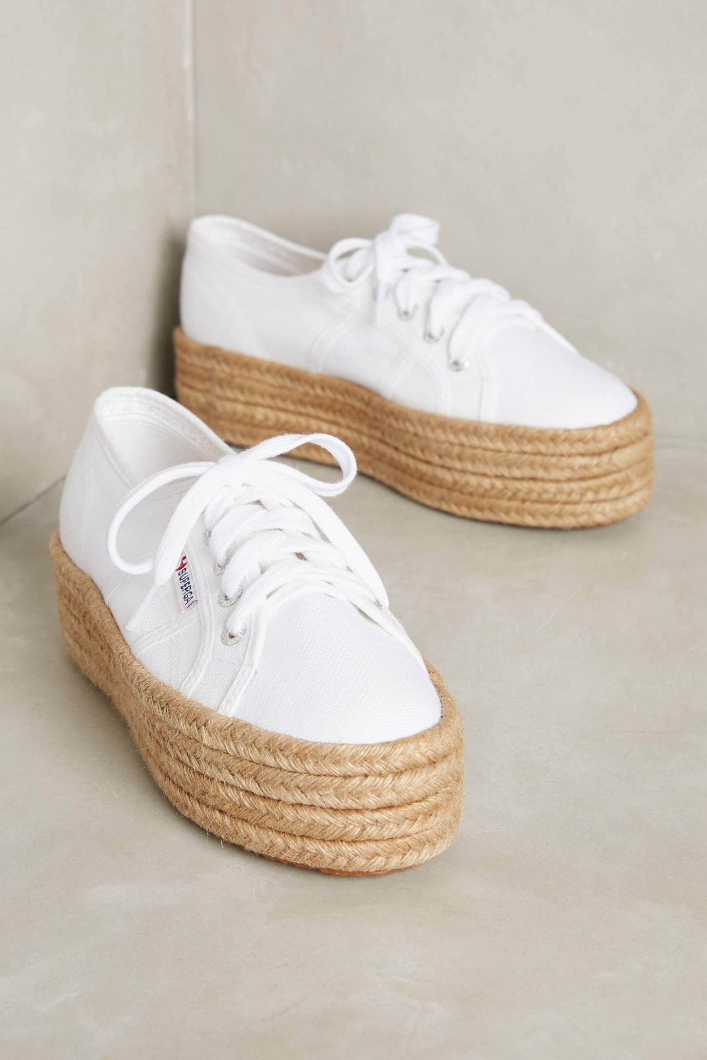 f6cda4c61 Superga Platform Espadrille Sneakers   Shoes   Espadrille sneakers ...