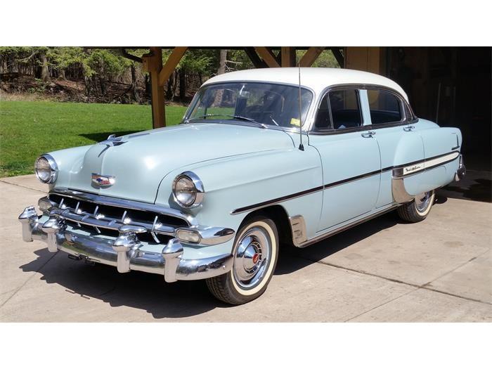 1954 Chevrolet Bel Air For Sale Classiccars Com Cc 869276 Chevrolet Bel Air Chevy Vehicles Chevrolet