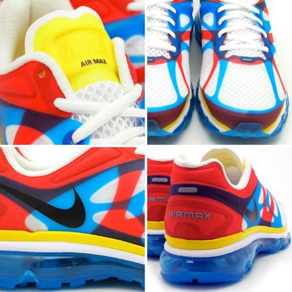 Nike Air Max 2012+ 'Olympic' | Estilo, Zapatos