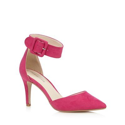 48855811d Red Herring Women s Pink High Mid Pointed Heel Shoes Court Shoes ...
