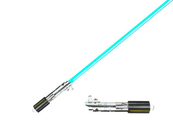 Espada Sable Laser Star Wars Luke Skywalker Force Fx Hoja Extraible Episodio Iv Hasbro Sable Laser Star Wars Sable Laser Espadas