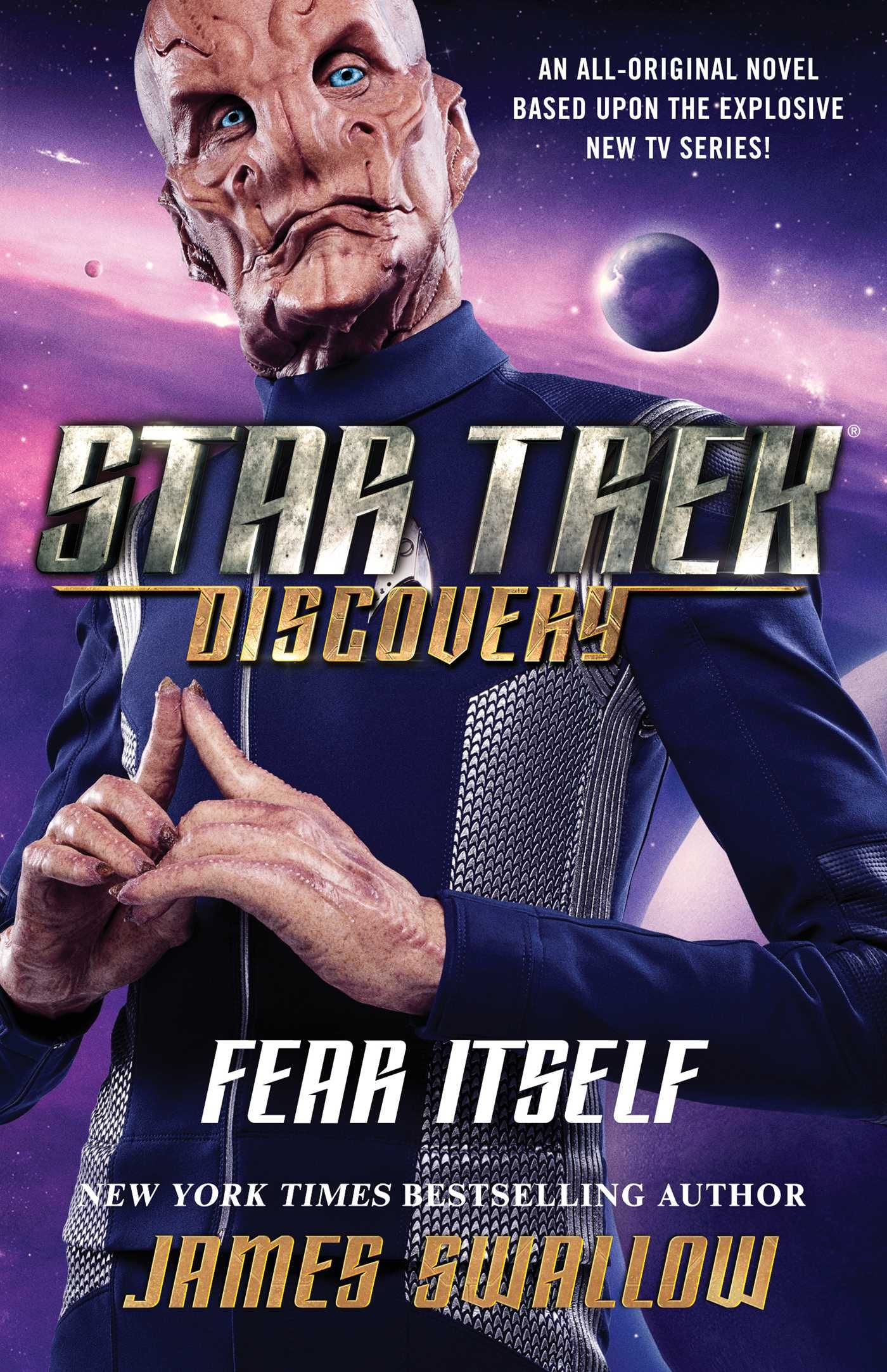 Star Trek Discovery Fear Itself By James Swallow Cover Art