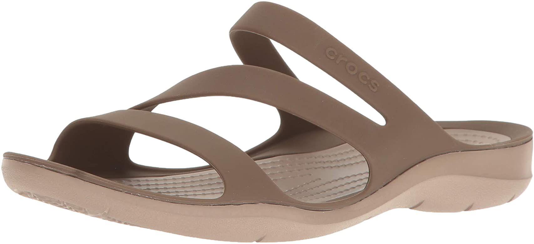 Crocs Women's Swiftwater Sandal Sport Black