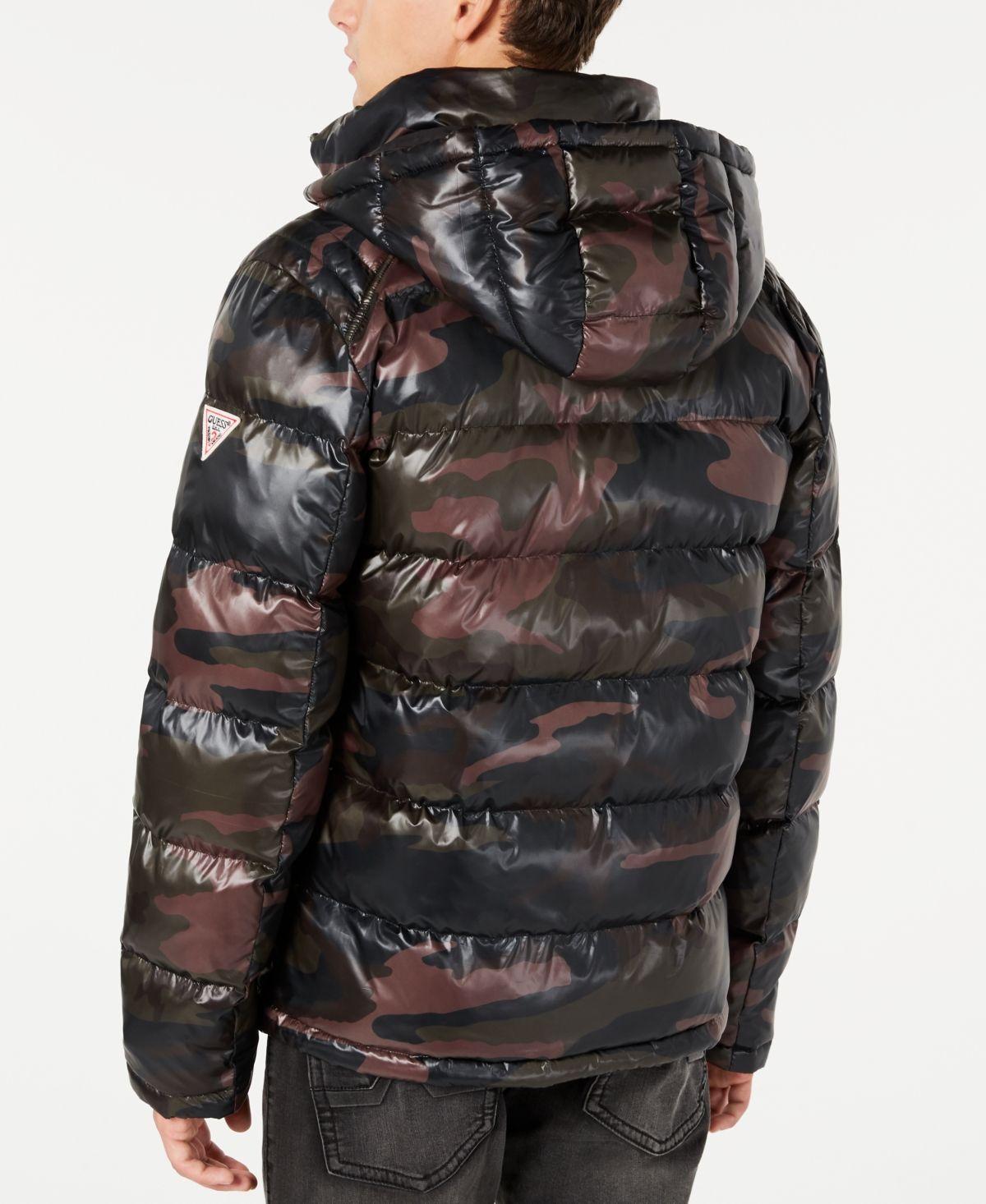 Guess Men S Hooded Puffer Coat Reviews Coats Jackets Men Macy S Guess Men Trendy Mens Fashion Mens Hooded [ 1466 x 1200 Pixel ]