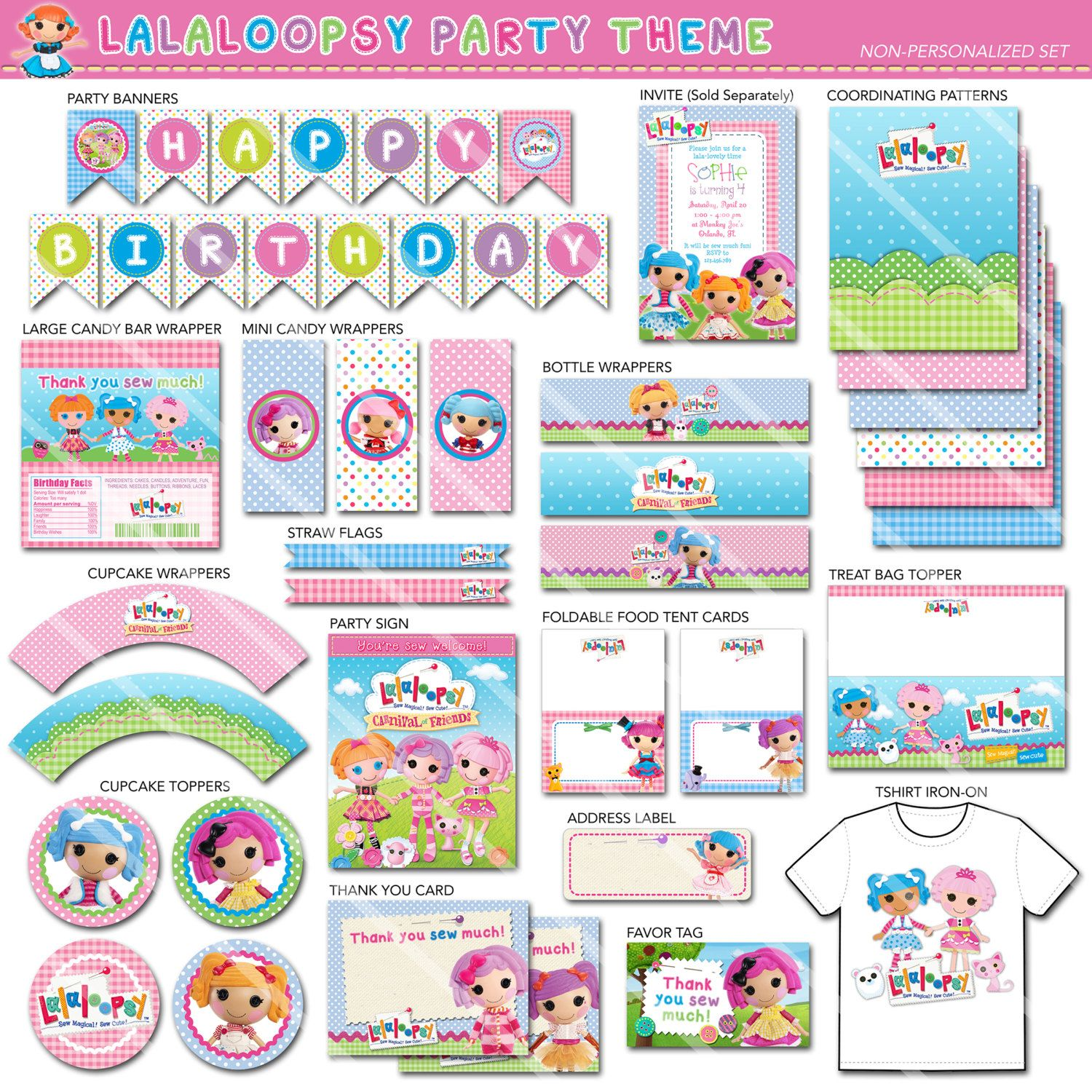 Lalaloopsy Party Package | Lalaloopsy Birthday Party Package ...