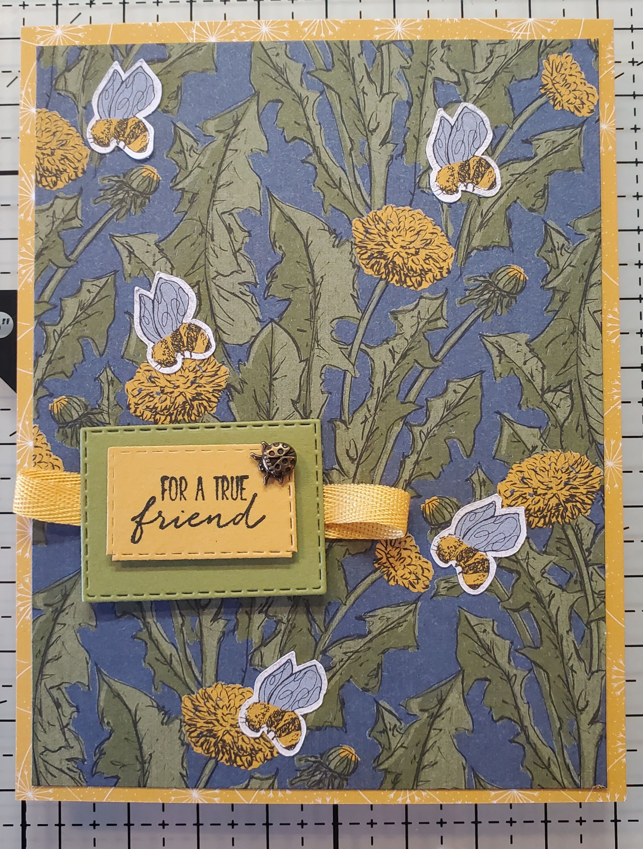 Sneak Peek Dragonfly Garden Stampin Up