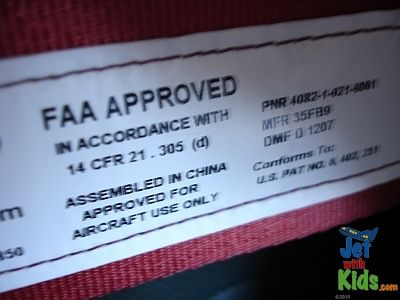 FAA Approved Carseats