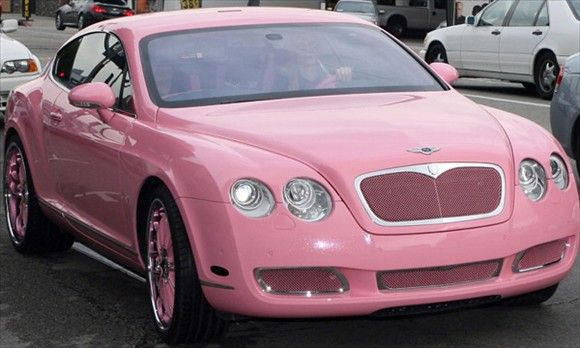 e0ca78b5868 Paris Hilton s Pink Bentley Continental GT