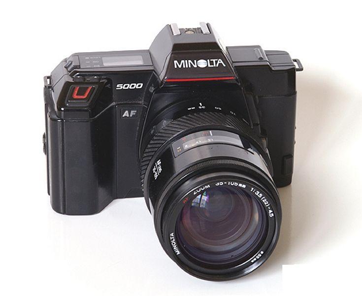 Minolta Maxxum 5000 35mm SLR Film Camera Body Only | eBay