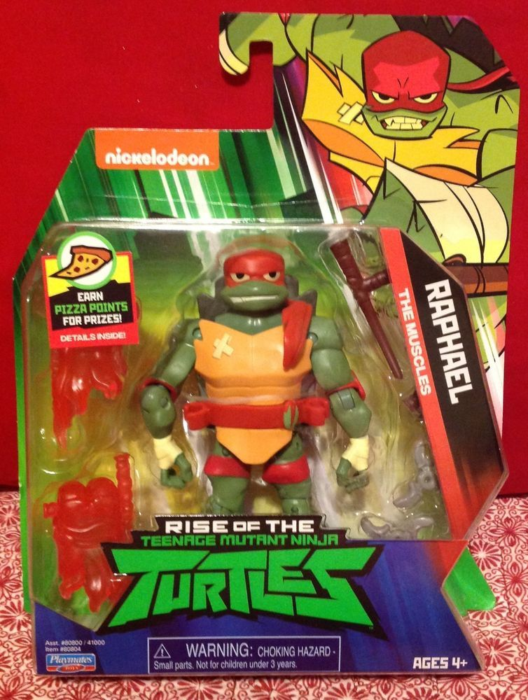 Rise of the Teenage Mutant Ninja Turtles Actionfigur Michelangelo 80803