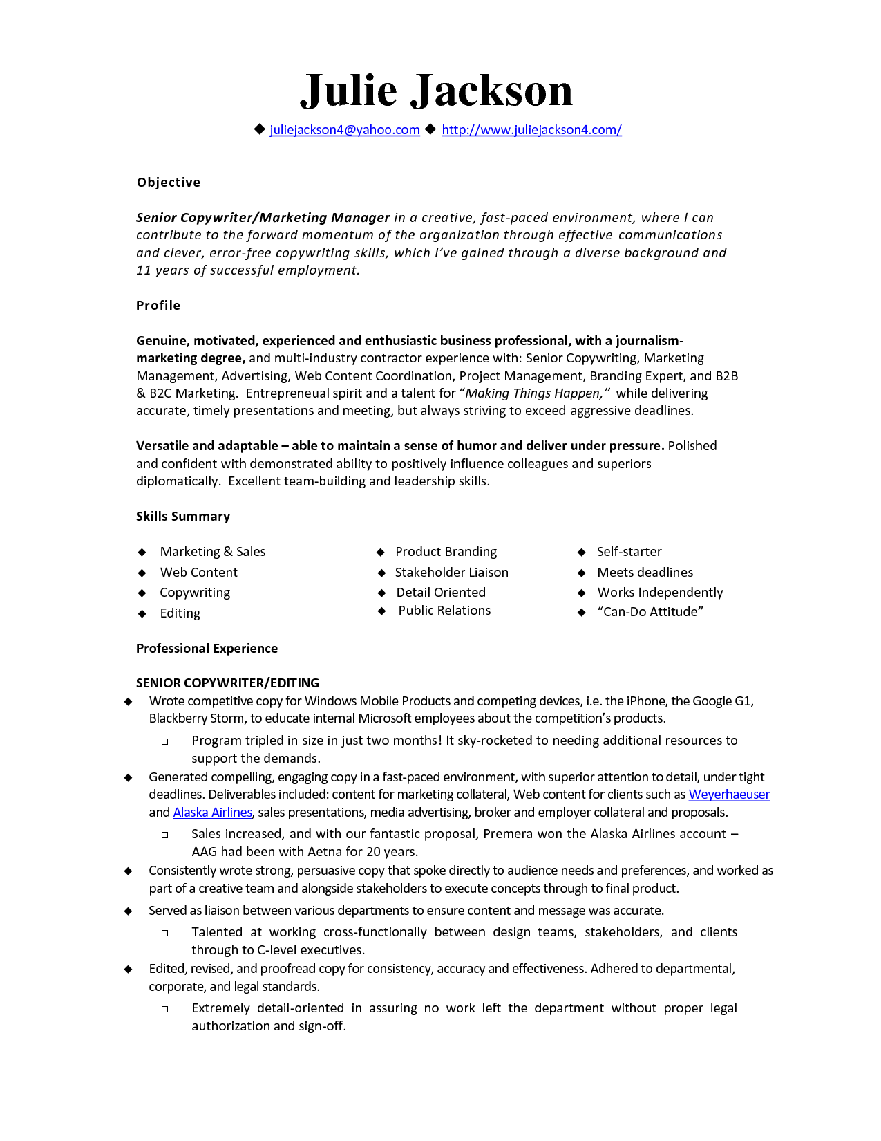 Monster Sample Resume Monster  Monsters Template And Resume Builder