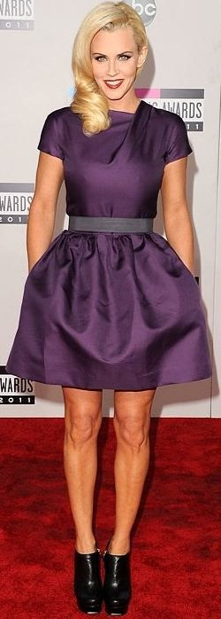 Jenny McCarthy in Victoria Beckham Spring 2011 at the American Music Awards, November 2011