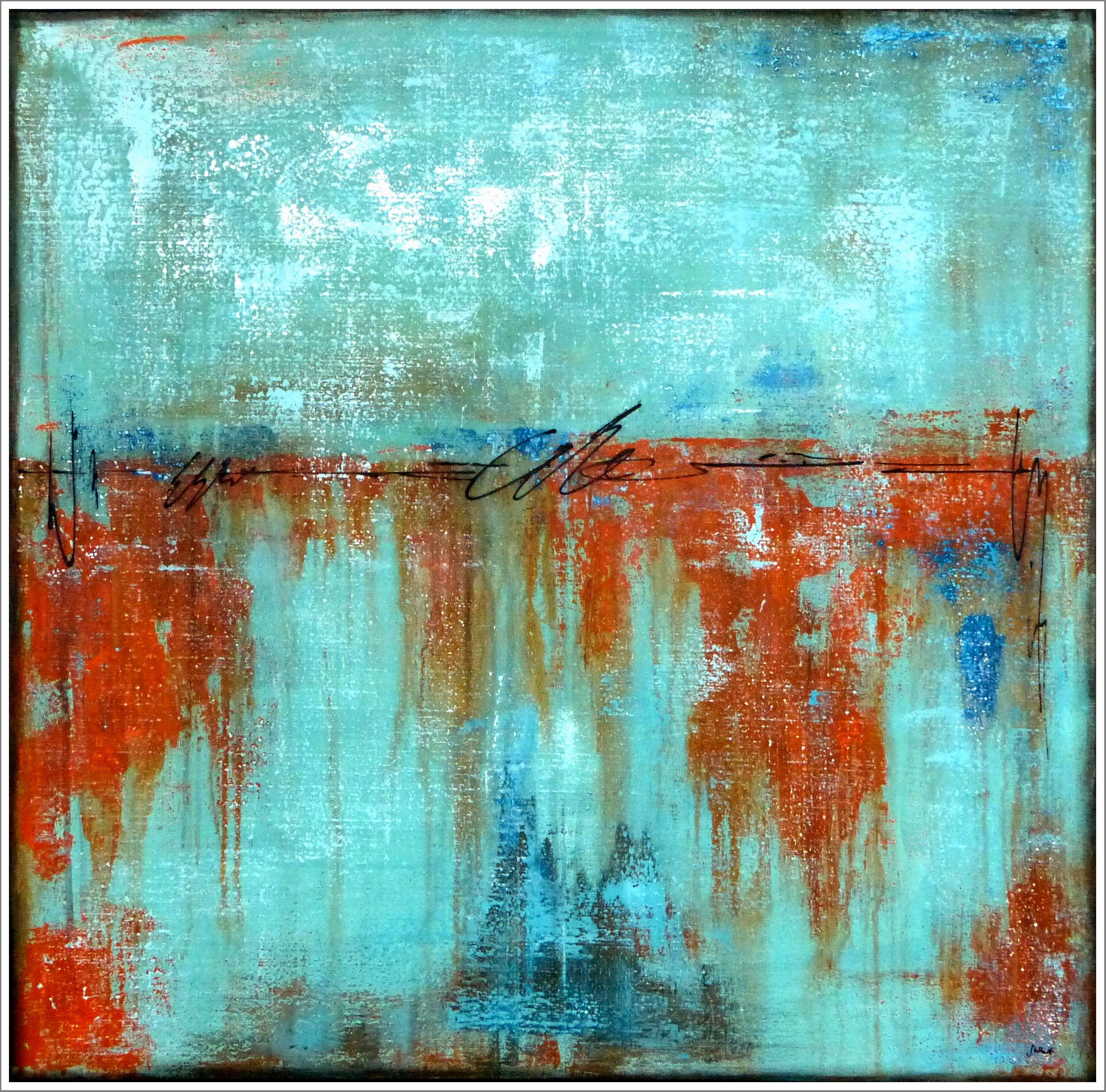 stella hettner bild original kunst gemalde modern malerei abstrakt acryl neu abstract painting abstrakte acrylbilder rot schwarz wohnzimmer bilder