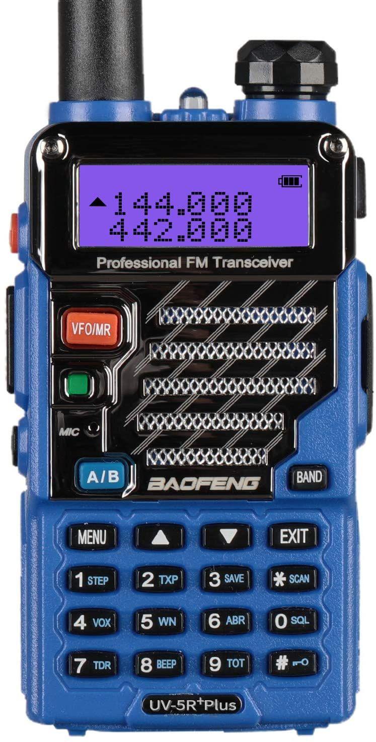 BaoFeng UV5R Plus Qualette Two way Radio (Royal Blue) in