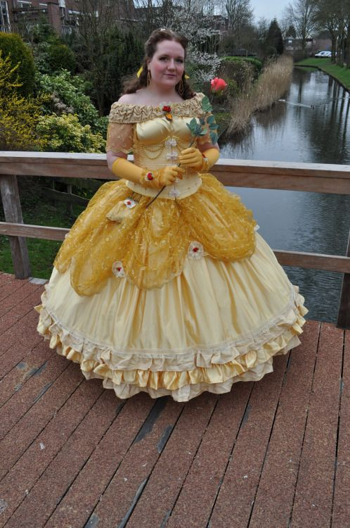 nathalie honing inspired belle gown disney costume. Black Bedroom Furniture Sets. Home Design Ideas