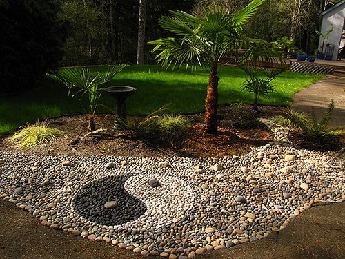 My Rock Art Garden Things Zen Garden Design Home