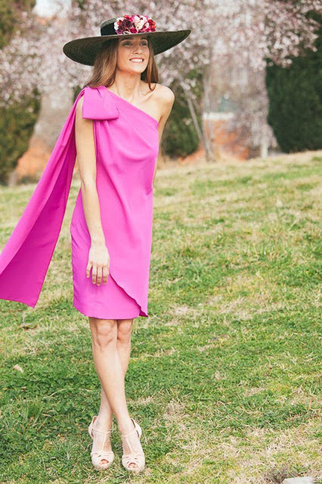 vestido invitada perfecta boda look alquiler la mas mona blog a todo ...