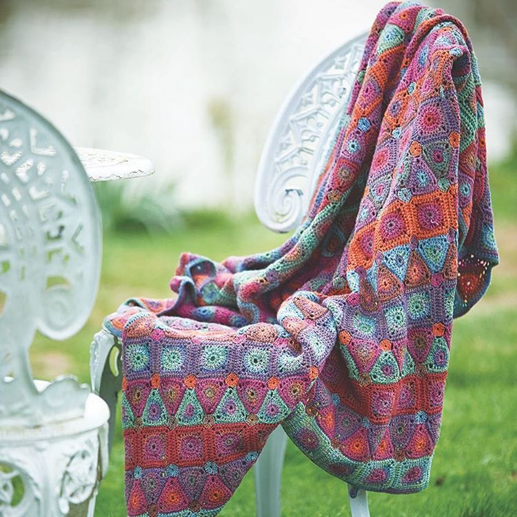 This is Lilian from my book Rainbow Crocheted Blankets, named after ...