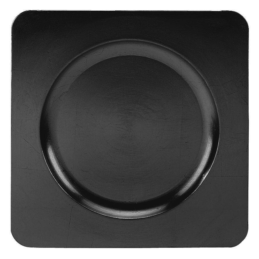 Tabletop Classics TR-6660 Black 12 1/4  Square Acrylic Charger Plate  sc 1 st  Pinterest & Tabletop Classics TR-6660 Black 12 1/4