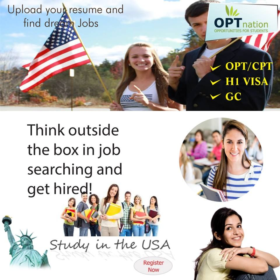 Pin by OPTnation on OPT Nation OPT Jobs in USA Job