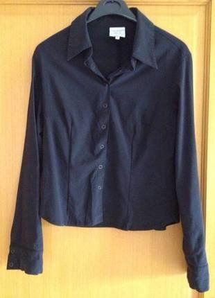 8735aa9d5ec À vendre sur  vintedfrance ! http   www.vinted.fr mode-femmes blouses-and-chemises 26694558-chemisier-noire-cintre-elastane-la-city-taille-2-38