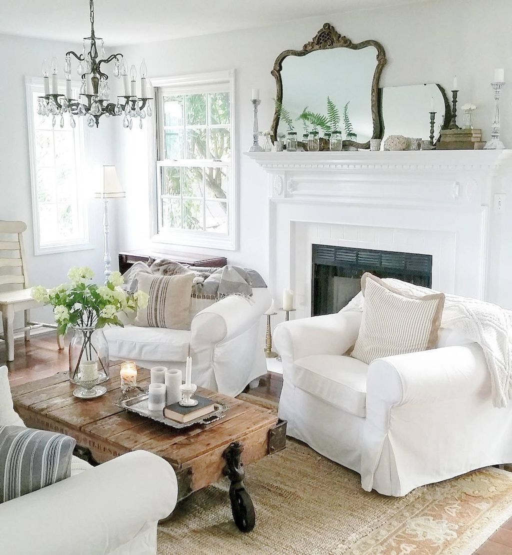 Incredible french country living room ideas (39) | Informal living ...