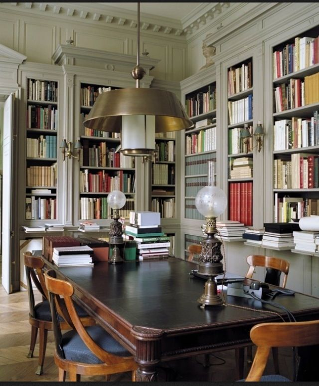 Nice study space future home stuff in 2019 home - Study room in house ...