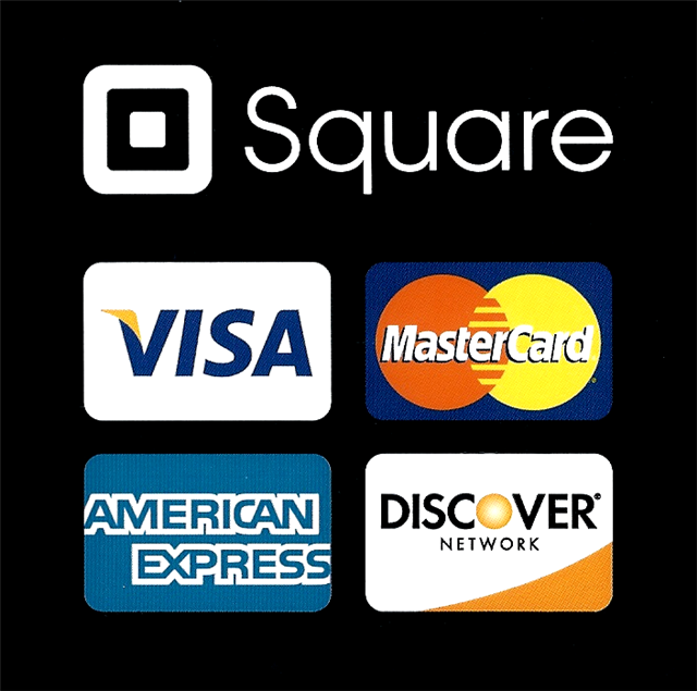 Square Stickers Small Space Designs Llc Now Accepts The Following Major Credit Cards Credit Card Sign Girl Scout Cookies Booth Square Credit Card