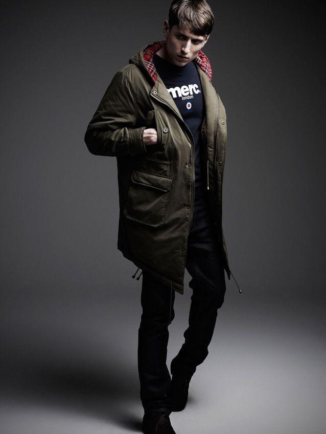 Men's/Parka/Merc | Clothes | Pinterest | Fishtail parka and Man jacket