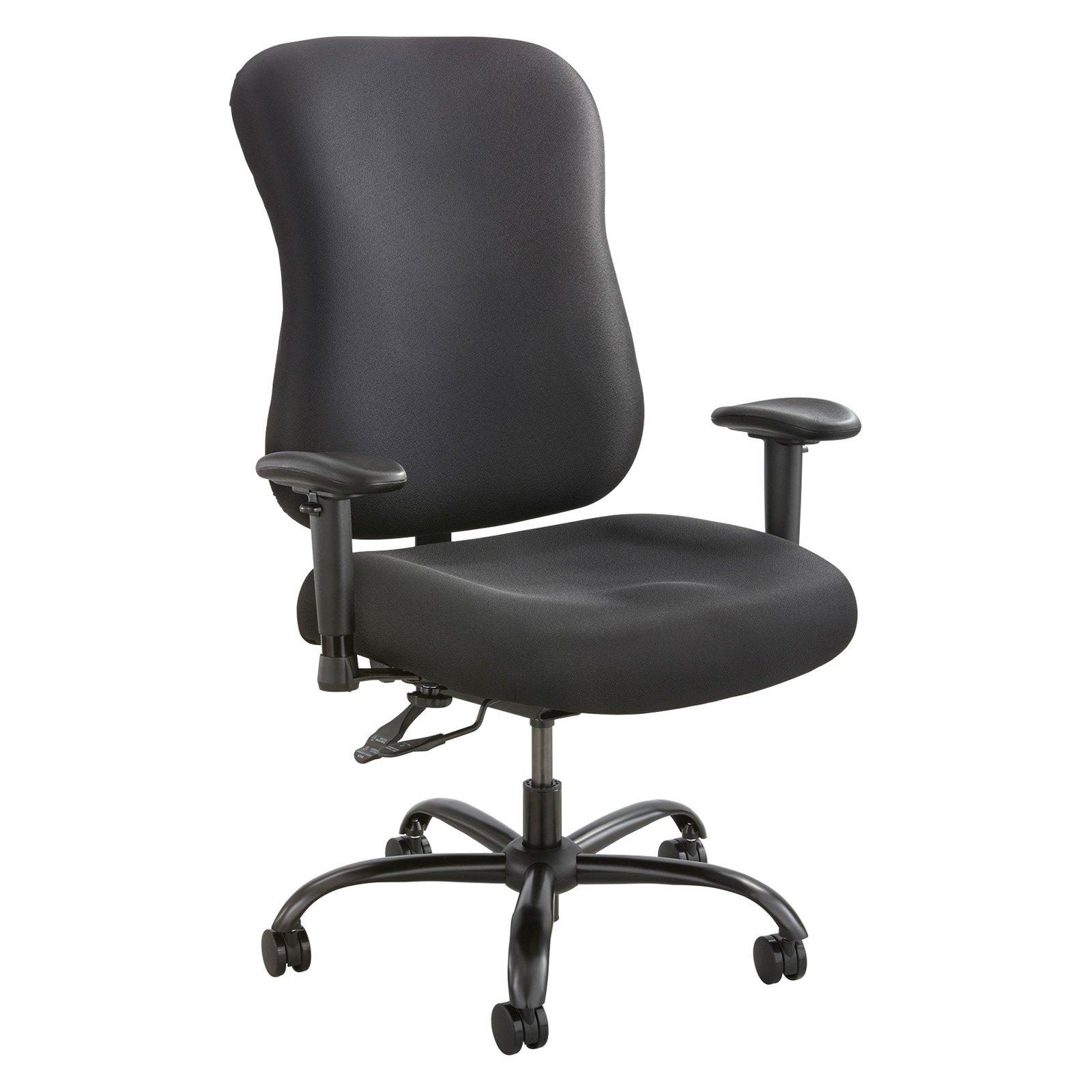 Safco Optimus Big Tall Cloth Chair Tall Chairs Tall Office