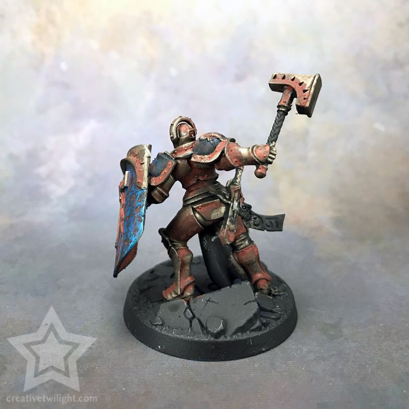 How To Paint A Realistic Rust Effect For Miniatures Tutorial Miniatures Tutorials Painting Miniatures