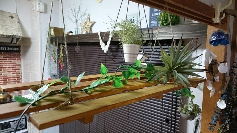 話題のすのこで簡単どこでもラダーを作りました 天井から吊り下げたり