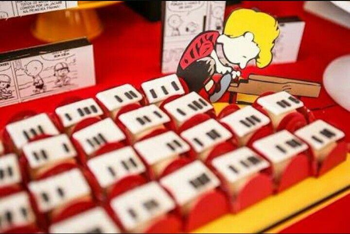 Ideia pata festa Snoopy