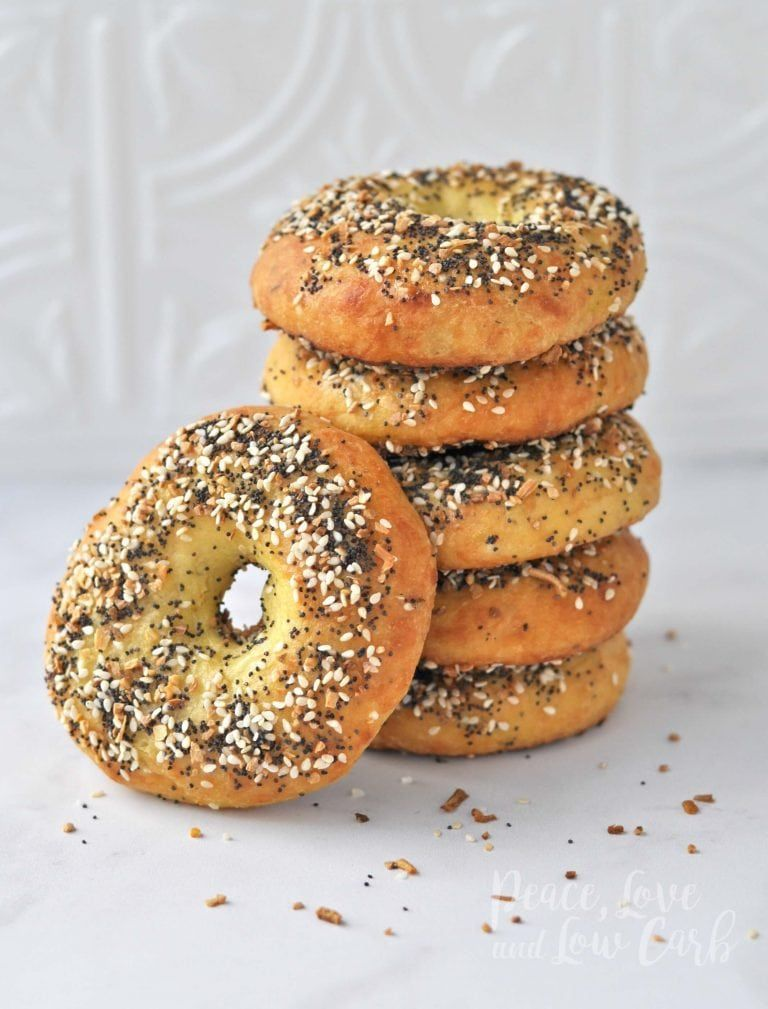 Low Carb Keto Everything Bagels Peace Love and Low Carb
