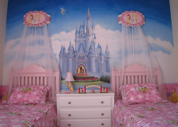 Princess Palace At The 27 Cool Kids Bedroom Theme Ideas