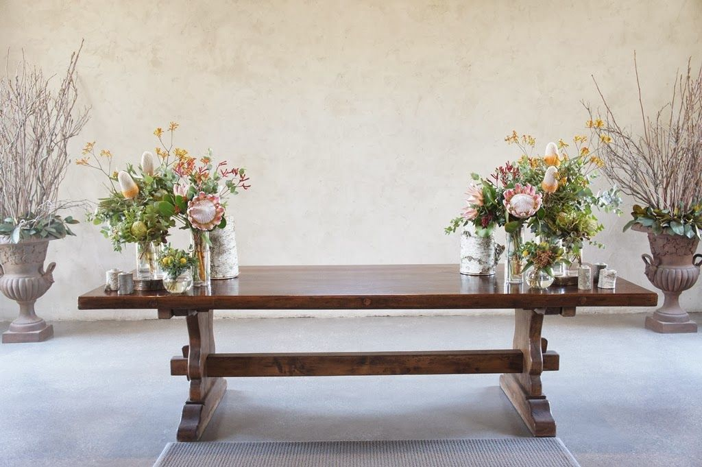 Simple but stunning king protea bouquet      Native ceremony flowers      Ceremony flowers at the Stones     Native flowers in jars      ...