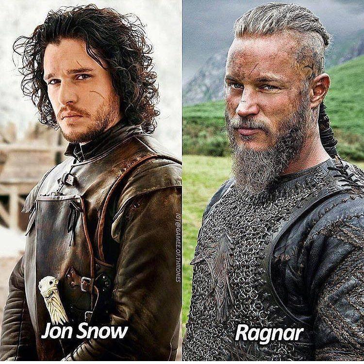 Gotinside Asked Jon Or Ragnar To Which I Say Jon Snow In The Streets Ragnar In The Sheets Got Vikings Jonsnow Jonsnuuuuh Rag Jon Snow Hbo Ragnar