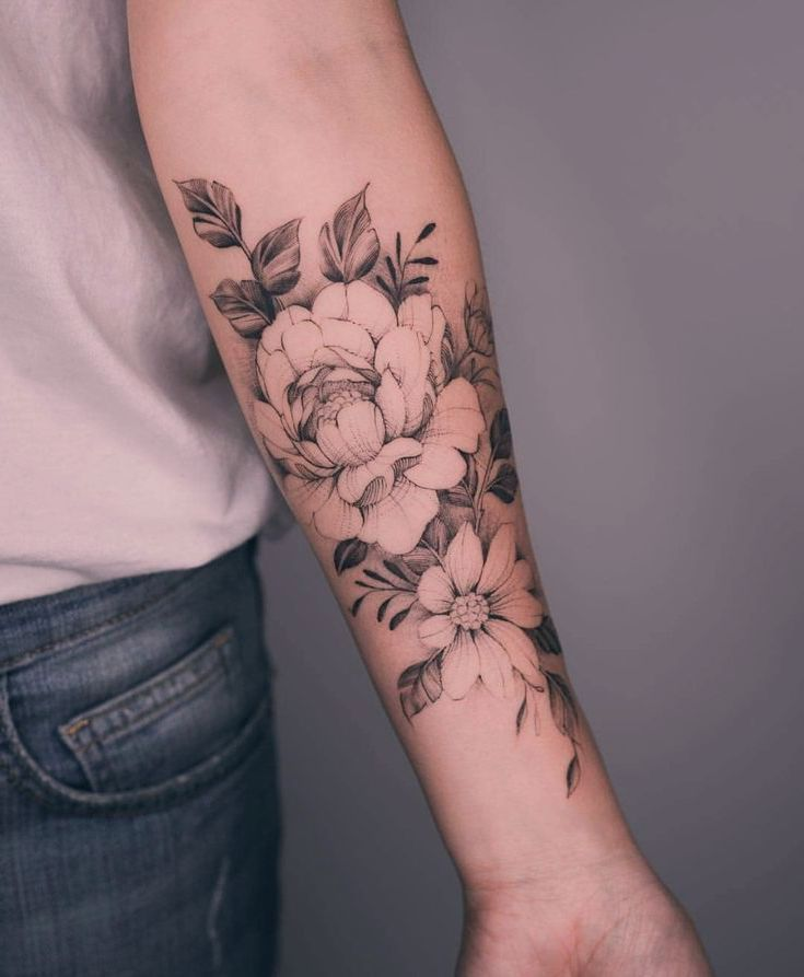 Rose Vorderarm Tattoo - tattoos for women small - #Rose #