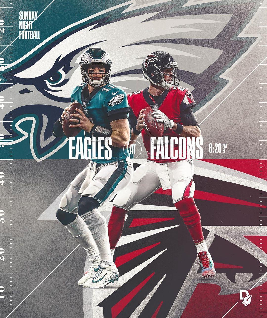 Johnny Silva On Instagram Sunday Night Football Poster Made For Digitalize Nfl N Football Poster Sunday Night Football Sport Poster Design